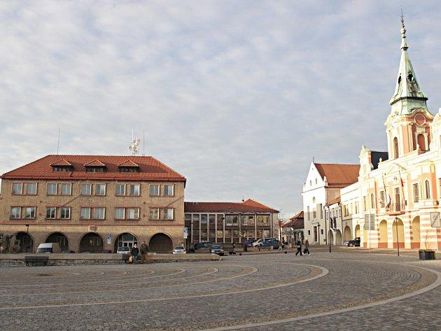 Mělnické náměstí.