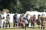 Hořinský park opět po roce ožil rytířským kláním, šermem a středověkou hudbou.