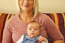 Michaela Khorelová se svou prvorozenou dcerou Amálkou už několikrát vyrazila do Tanvaldu na hory.