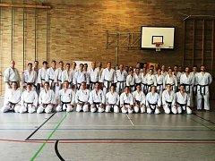 Po tréninku s německým a australským týmem.