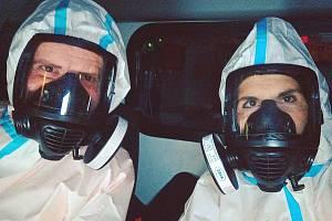 Středočeští záchranáři v době koronaviru.