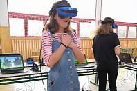 Na závěr festivalu byl uspořádán turnaj ve virtuální hře Beat Saber.