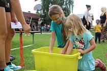 Děti si užily Bezva den v Jeviněvsi.
