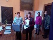 Volby v Byšicích.