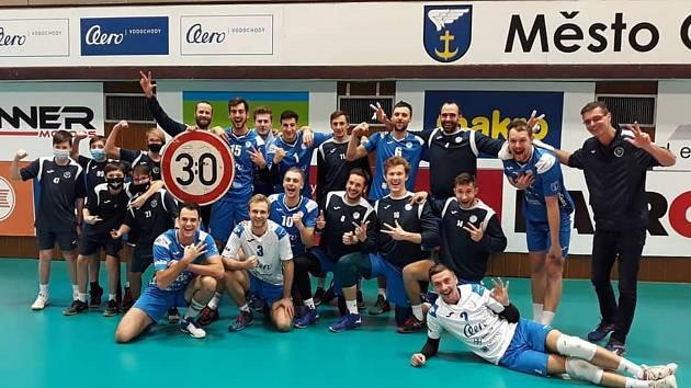 Odolena Voda porazila v 18. kole extraligy Brno 3:0.