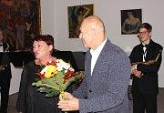 Momentky ze slavnostního vyhodnocení letošní soutěže poetů v rámci festivalu Seifertovy Kralupy 2018.