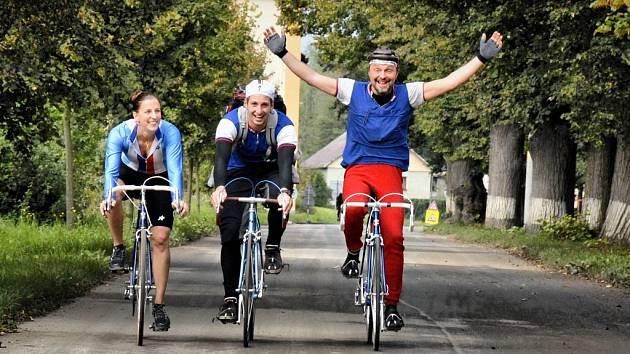 NA KOKOŘÍNSKOU klasiku se těší cyklisté ze všech koutů republiky.