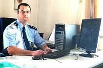 Vedoucí mšenského policejního oddělení Martin Šnýdr