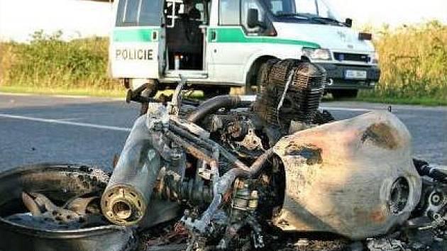 NEHODY. Následky dopravních nehod motorkářů bývají většinou vážné.