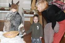 Výstava věnovaná finským Vánocům v mělnickém muzeu.