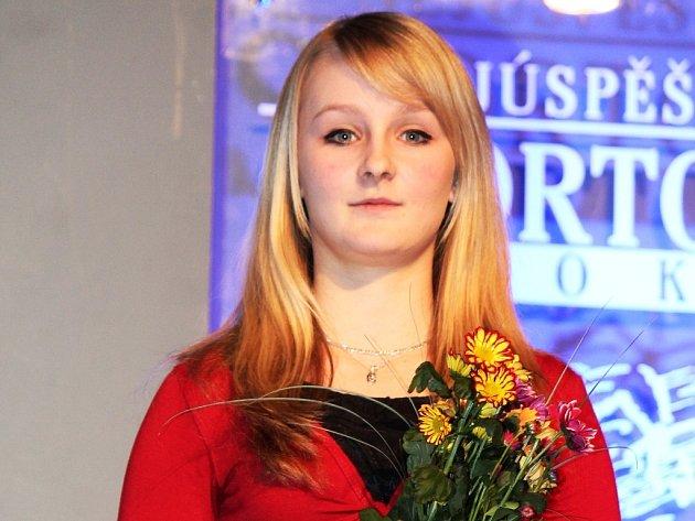 Karatistka Lucie Köppelová, SK Shotokan Neratovice.