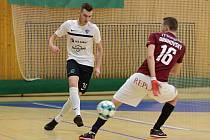 Čtvrtfinále Poháru FAČR ve futsalu 2018. Sparta Praha porazila ve Zruči nad Sázavou Olympik Mělník.