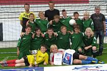 Okresní výběr mladších žáků vyhrál semifinalový turnaj Danone Cupu v Roudnici nad Labem