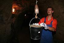 Dobrovolníci čistili podzemí pod mělnickou radnicí