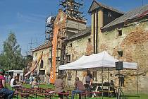 Pivovar v Lobči je právě v rekonstrukci.