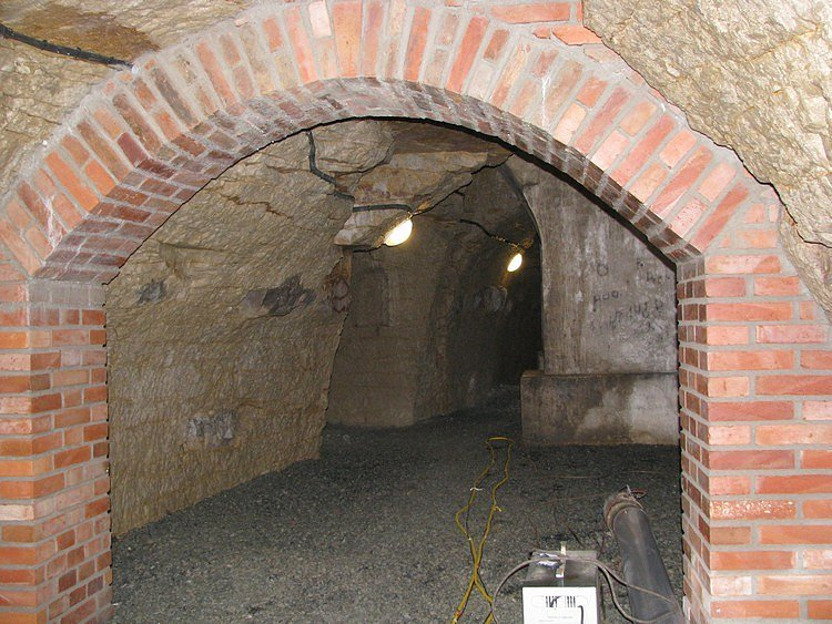 Z mělnických podzemních chodeb