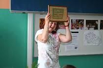 Předání ocenění Hvězda za katedrou v kategorii základních škol