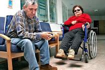 BEZ PROUDU, ALE S VÝTAHEM. I pohybově omezení klienti mšenského domova seniorů se mohli bez průblémů dostat do všech pater budovy. Díky záložnímu zdroji fungoval celý den výtah.