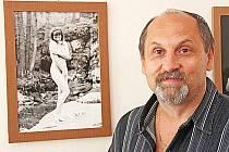 Václav Zýval odhalil v Dubé svou tvorbu.