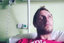Smůla. Místo návratu na hřiště se teď fotbalový brankář Kamil Šídlo zotavuje po operaci přetržené achilovky.