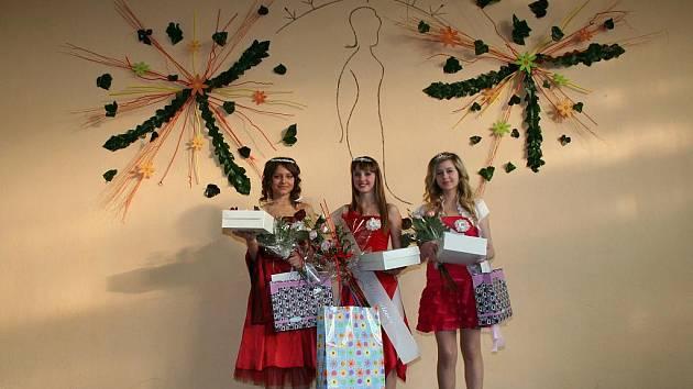Vítězky Dívky roku 2011.
