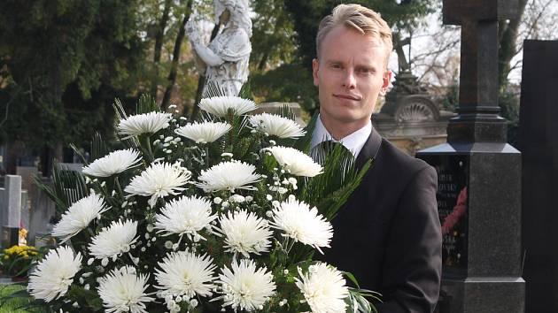 David Borovička z pohřebního ústavu Elpis.