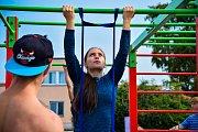 Workouteři udělali přes 13 tisíc shybů