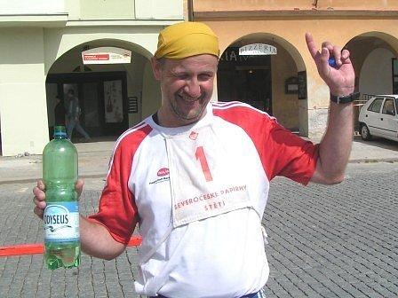 Ultramaratonec Martin Hunčovský z Kelských Vinic.