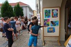 Výtvarníci z mělnické ZUŠ vystavují v muzeu