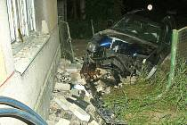 Nehoda v Kozlech.
