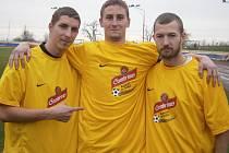 Michal Kubišta z SK Slavia Velký Borek se stal na Mělnicku hráčem měsíce října v projektu Kopeme za fotbal.