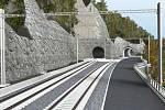 Kvůli rekonstrukci nelahozeveských tunelů by mělo dojít k přesunutí Dvořákovy stezky, zvýšení trati nad současný terén, pokácení 3000 stromů a bourání staveb. V petici to mimo jiného uvádí spolek Dvořákova stezka.