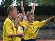 Krajské finále McDonald 's cupu v Neratovicích.