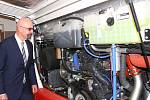 Slavnostní křest čtrnácti nízkopodlažních autobusů na stlačený zemní plyn od firmy Iveco Bus z Vysokého Mýta.