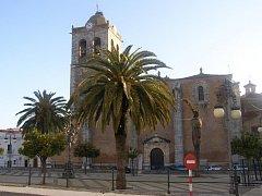 Kostel v Los Santos de Maimona