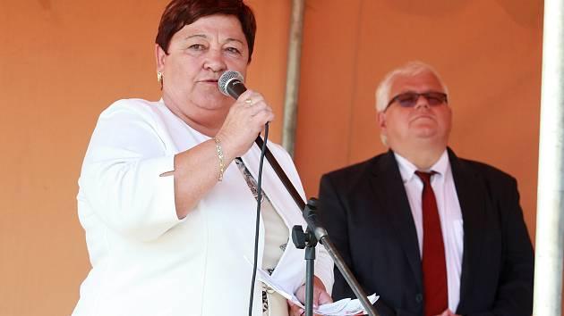Ředitelka Farní charity Neratovice Miloslava Machovcová.