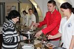 Vánoční kuchyně našich babiček a prababiček v Regionálním muzeu v Mělníku.