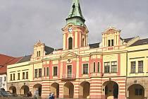 Mělnická radnice.