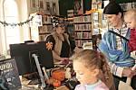 Městská knihovna Mělník připravila pro děti poslední říjnový den akci Odpoledne s Knihomůrou.