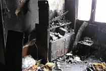 Při požáru bytu v Kralupech nad Vltavou zemřel jeho majitel.