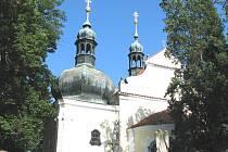 Kostel svatého Linharta v Cítově.