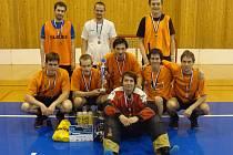 Třetí ročník florbalového turnaje Novotech Open vyhrál tým SK Dynamis.