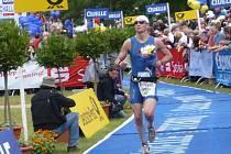 Jaroslav Brynda na závodě Ironmana v Německu