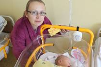 Ella Brngálová se měla narodit už 27. prosince loňského roku, nakonec ale spatřila světlo světa až ve druhém lednovém dni v brzkých ranních hodinách.