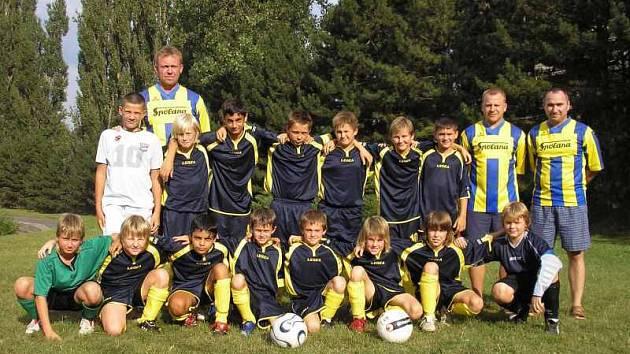 Mladší žáci FK Neratovice/Byškovice.
