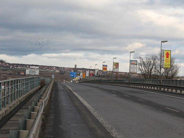 Nový most v Mělníku.