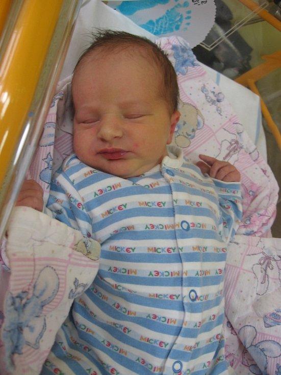 Jiří Maier se rodičům Petře Krkavcové a Tomáši Maierovi z Veliké Vsi narodil v mělnické porodnici 13. ledna 2015, vážil 3,65 kg a měřil 54 cm.