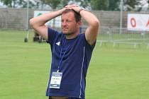 Fotbalový trenér Miroslav Jíra.