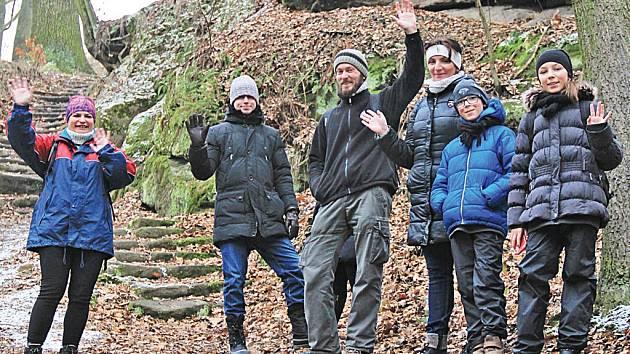 Neratovičáci zahájili rok 2016 výletem na Kokořínsko.