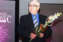 Jiří Fabian během vyhlášení ankety Sportovec roku na Mělnicku 2014.